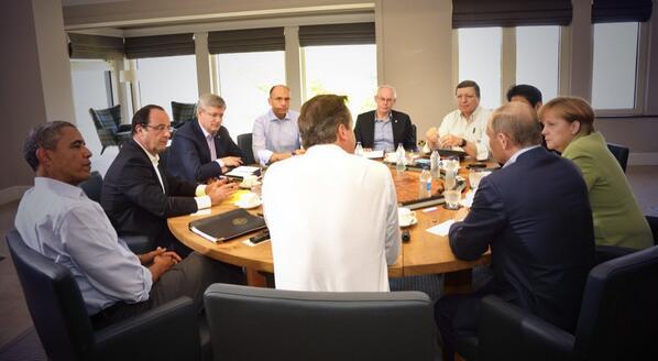 Les Chefs d'Etat du G8 signent une Charte pour l'Ouverture des Données Publiques