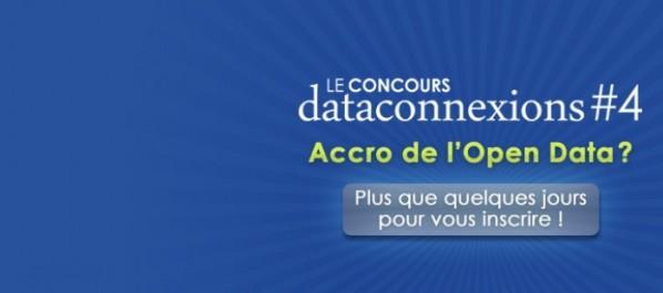 Dataconnexions 4# : Petite rallonge jusqu'au 6 Novembre pour le dépôt de dossiers