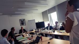 Délibérations lors du jury de l'AMI IA du 17 octobre 2018