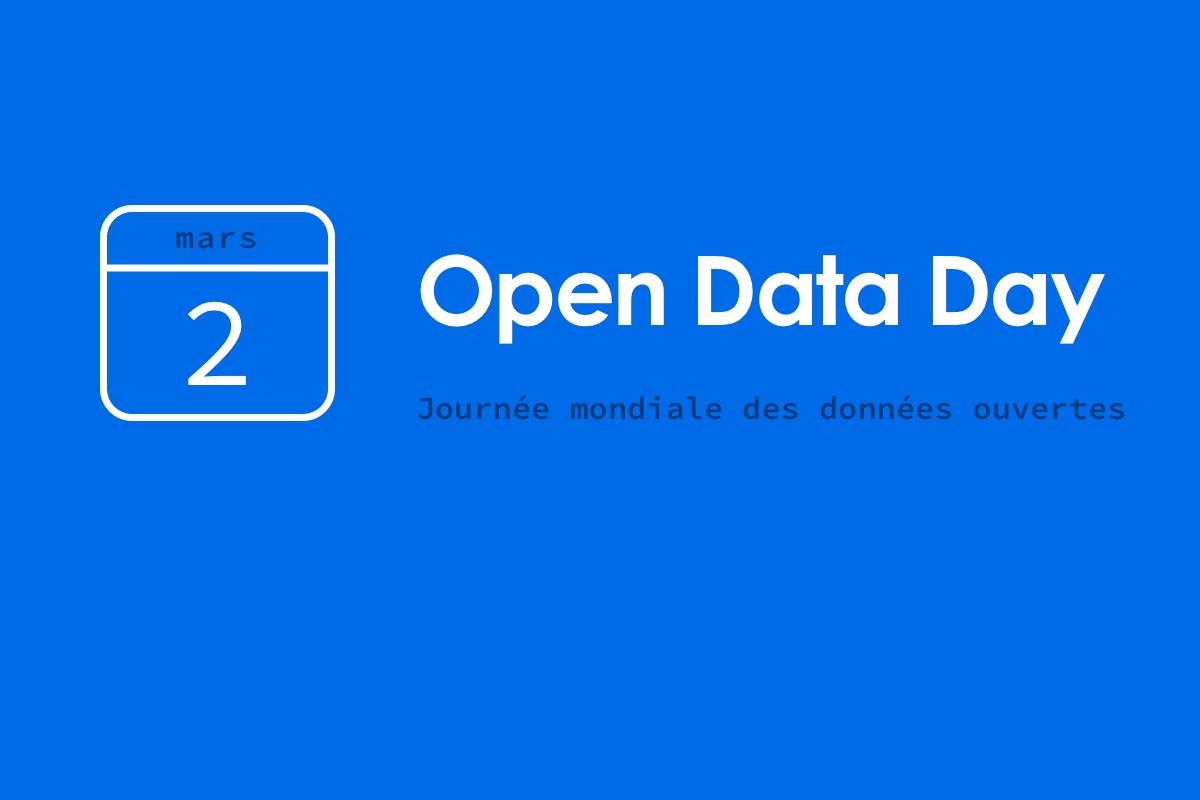 image de couverture pour l'article sur la journée mondiale des données ouvertes